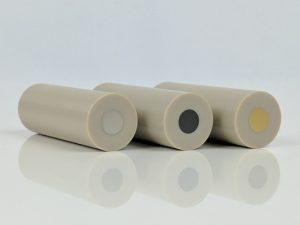 Platinum Gold Glassy Carbon Rotating disk working electrode
