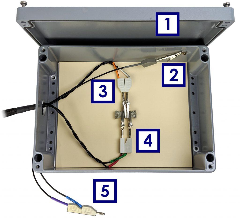 Proper Cable Arrangement for a Shorted Lead EIS Measurement