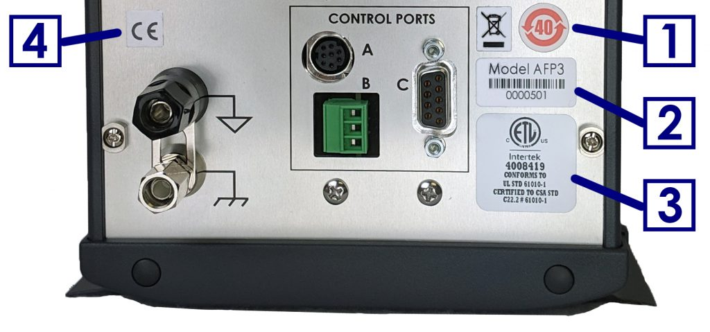 WaveDriver 200 Instrument Markings
