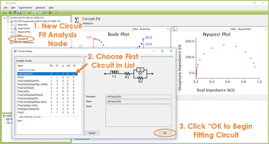 AfterMath Circuit Library Selection for Circuit Fit Analysis