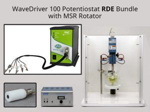 WaveDriver 100 Potentiostat with EIS RDE Bundle with MSR Rotator