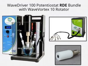 WaveDriver 100 RDE Bundle with WaveVortex 10 Electrode Rotator