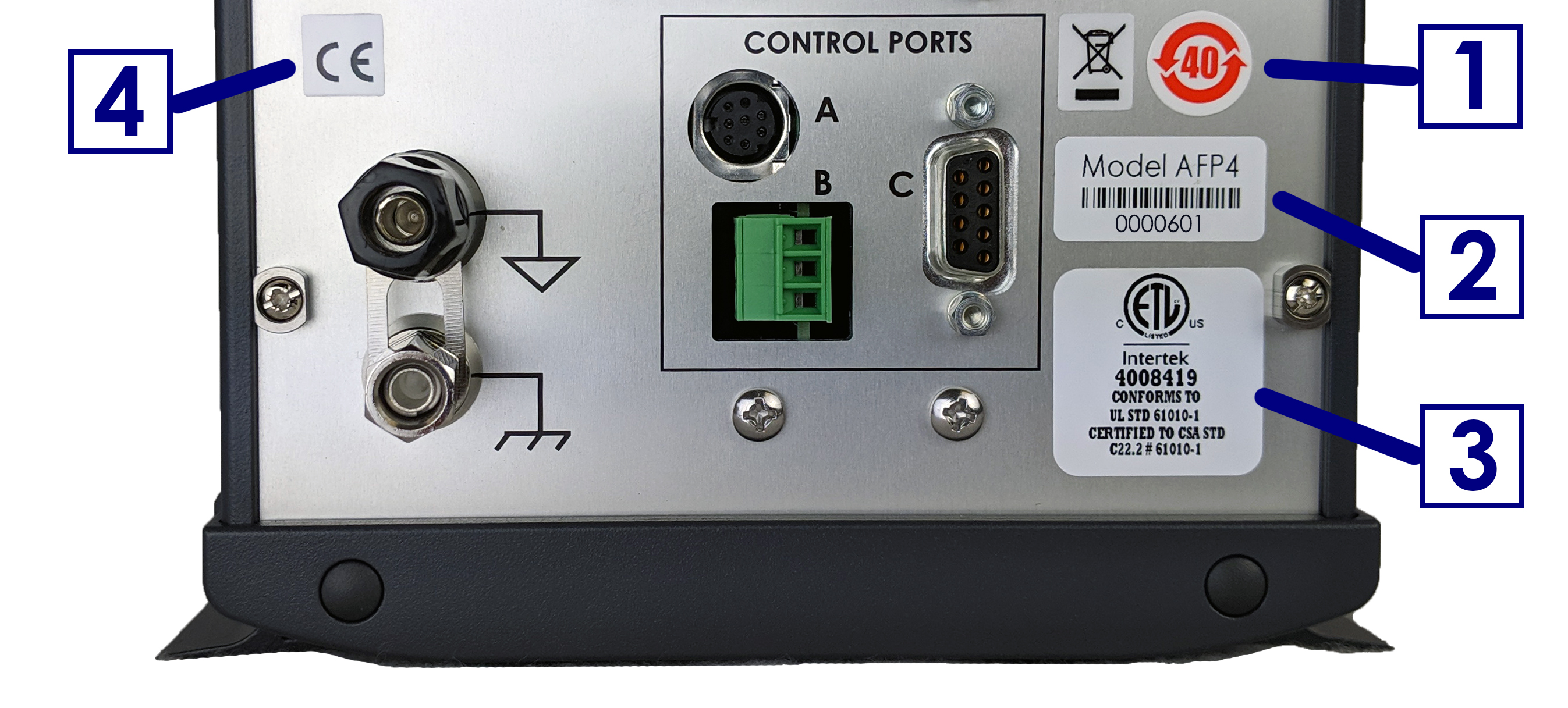 WaveDriver 40 Instrument Markings