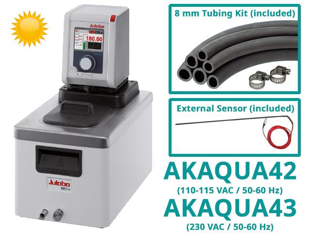 Water Circulator Kits, Heating Only, with RTD Sensor (part numbers AKAQUA42/AKAQUA43)