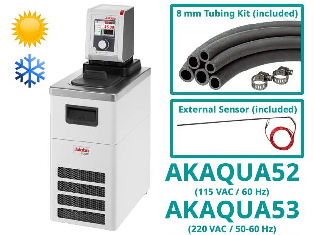 Water Circulator Kits, Heating and Cooling, with RTD Sensor (part numbers AKAQUA52/AKAQUA53)