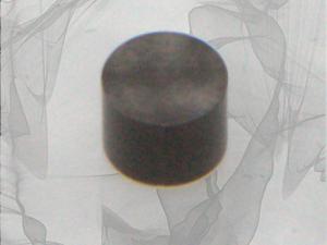 glassy carbon disk insert