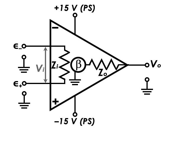 Operational Amplifier Circuit Diagram