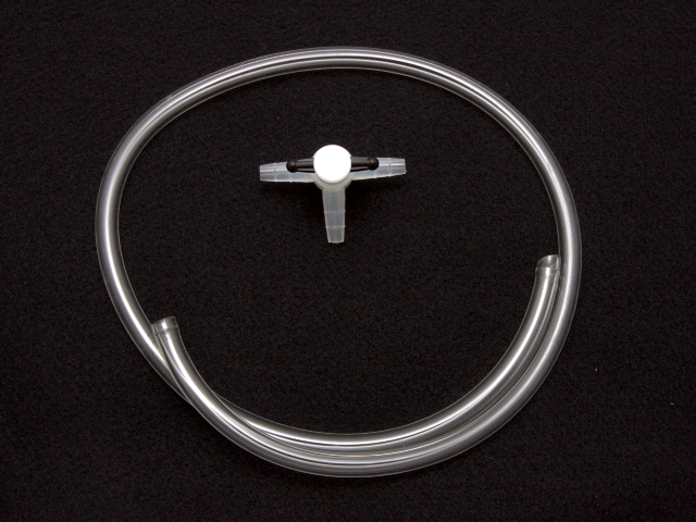 Purge Kit for 1/4 Inch Tubing, Including Three-Way Valve (part number AKPURGE1)