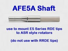 AFE5A Shaft for ASR Rotators