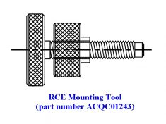 RCE Mounting Tool (part ACQC01243)