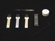 Components of the Spectroelectrochemistry Kit