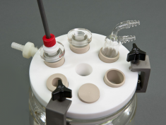 15mm RCE Cell - Top View with Accessories