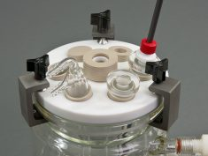 15mm RCE Cell - Alternate Top View with Accessories