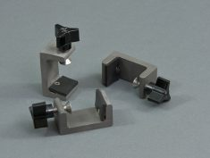 Hoobler-Sagi Clamps - to hold lid onto cell.