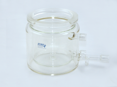1 Liter Jacketed OpenTop Cell with Drain Valve