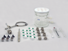 15mm RCE Bundle - Jacketed Cell, Accessories, and Rotator