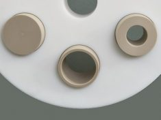 MutaPort Adapters installed into OpenTop Cell Lid
