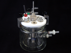 Jacketed Cell Assembled with Shaft and Accessories