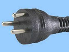 Power Cord for Denmark (Pine Part EWM18B8DK)