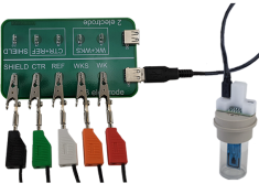 Unviersal Specialty Cell Connection Kit with Compact Voltammety Cell Kit