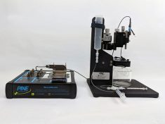 In-Vitro/FSCV Microelectrode Flow Cell with WaveNeuro dual channel Potentiostat