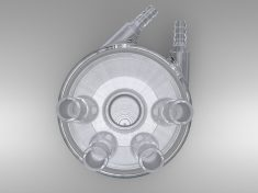 Jacketed Rotating Disk, Rotating Ring-Disk Cell RDE/RRDE Cell (Glass)