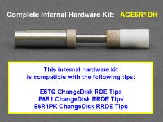 Pine Research ChangeDisk Rotating Electrode Internal Hardware