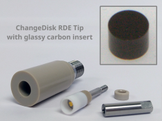 ChangeDisk RDE Tip with Glassy Carbon Insert