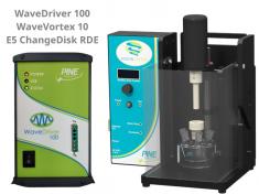 WaveDriver 100 Potentiostat with WaveVortex 10 Rotator