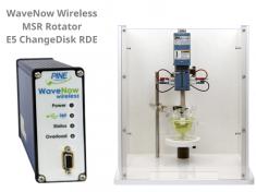 WaveNow Wireless Potentiostat with Pine Research MSR Rotator