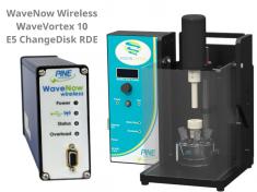 WaveNow Wireless Potentiostat with WaveVortex 10 Rotator