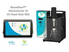 WaveNowXV Potentiostat with WaveVortex 10 Rotator