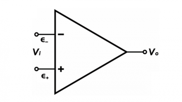 SImple Op-Amp diagram